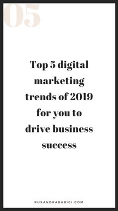 How to stay ahead of the curve without feeling overwhelmed: Top 5 Digital trends for you to integrate in 2019 Digital Marketing Trends, Digital Trends, Digital Marketing Strategy, Social Media Marketing, New Social Network, Online Marketing Strategies, Influencer Marketing, Feeling Overwhelmed, Playground