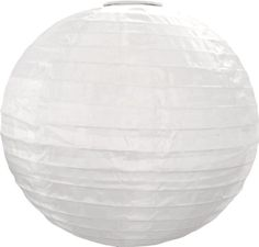 Allsop Home and Garden Round Soji Solar Lantern,White with Amber LED-NEW for sale online