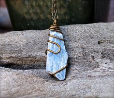 Etsy listing at https://www.etsy.com/listing/201781397/natural-kyanite-jewelry-wire-wrapped