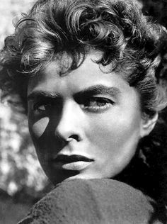 Ingrid Bergman in For Whom The Bell Tolls (1943) A beauty & great actress!