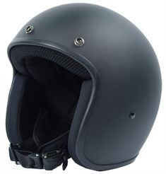 Light weight helmet design with old school open face retro style resulting in the world's lightest & most comfortable 3/4 retro style helmets on the market