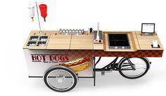 FOOD BIKE – SNACK STAND - CARGO SALES BIKE | paul&ernst street food solutions