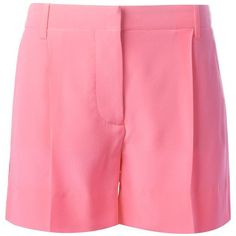 Stella McCartney classic shorts (469 CAD) ❤ liked on Polyvore