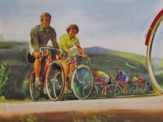Original-Vintage-c1950-034-Royal-Enfield-Zephyr-034-Bicycle-Point-of-Sale-Poster