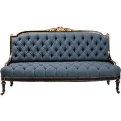 Pair of Tall Sofas | From a unique collection of antique and modern sofas at http://www.1stdibs.com/furniture/seating/sofas/