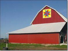 """Eastern Star"" Barn Quilt Block"