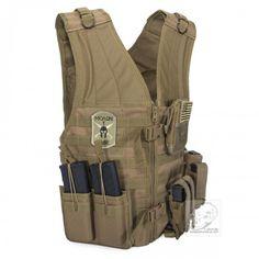 Voodoo Tactical Assault Vest with MOLLE Webbing, FLC