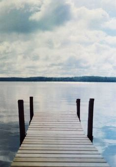 The lake, any quiet lake.