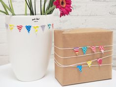 Washi Tape Wimpelkette
