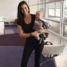 Amanda Jason with her son