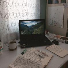 Study Areas, Study Space, Study Desk, Coffee Study, Study Corner, College Notes, Study Organization, Work Motivation, Study Hard