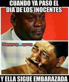 Ya pasó el día de los inocentes #inocentes #meme #embarazo