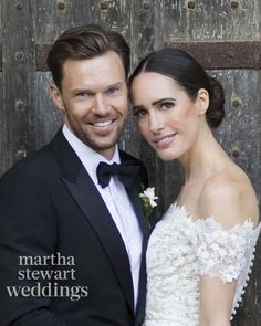 This year, Martha Stewart Weddings followed Louise Roe throughout her wedding-planning process. The coverage culminated in a close-up look at the TV host and blogger's autumn wedding—an October 1 English celebration in which she married director Mackenzie Hunkin.