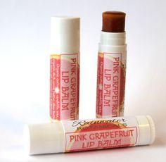 Pink Grapefruit Tinted Lip Balm with Wild Crafted Tamanu and Sea Buckthorn oils
