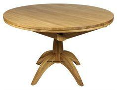 Windsor Circular Extending Oak Dining Table
