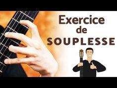 Exercice guitare débutant pour délier la main gauche - Aller-retour sur les cordes - YouTube