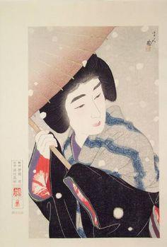 Art, Ukiyoe, Woodblock Print, Japan