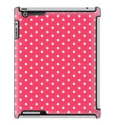Uncommon LLC Mini Dots Bubblegum Deflector Hard Case for iPad 2/3/4 (C0010-DP)