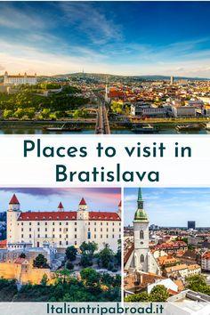 Places to visit in Bratislava