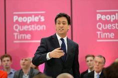Fancy TV: Ed Miliband has promise to rectify  the A&E mess