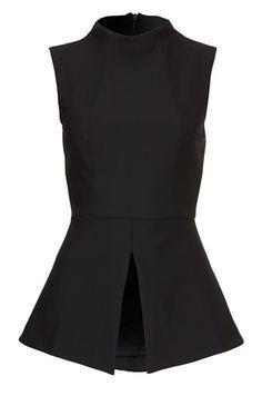 Shiloh Top – KOOKAÏ Black Tops, Black And White, Shiloh, Work Outfits, Blues, Peplum, Dresses, Women, Style