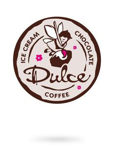 Dulce – Ice Cream, Chocolate, Coffee #Branding #design #logo #food #lifestyle #sweet
