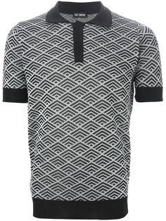 Raf Simons Knitted Polo Shirt - Stijl - Farfetch.com