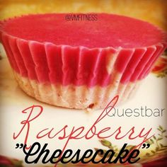 Ripped Recipes - Questbar Raspberry Cheesecake - What else can't these quest bars be made into?