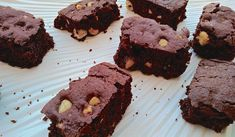 WW Butterless Light Brownie - Dish and Recipe- Brownie Léger Sans Beurre WW – Plat et Recette Light buttery brownie WW, a tasty recipe … - Ww Desserts, Best Dessert Recipes, Dessert Healthy, Good Food, Yummy Food, Tasty, Brownies Without Butter, One Bowl Brownies, Pie Co