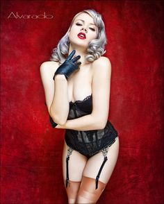 Real Pin Up Girls Photography | meant to be pinned up anyway posters of pin up girls were mass ...