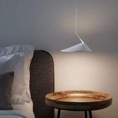 Suspension lamp / contemporary / aluminum / LED - by Jorge Pensi - BOVER Barcelona Bedroom Lighting, Interior Lighting, Lighting Design, Contemporary Wall Lights, Contemporary Interior, Design Light, Led Wall Lamp, Fashion Lighting, Design Moderne
