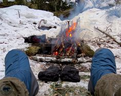 Warming my boots and gloves by the fire Backpacking Trails, Hiking, Camping Photo, Algonquin Park, Winter Camping, Topographic Map, Ontario, Westerns, How To Find Out