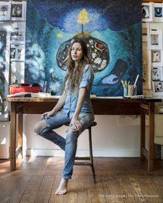 NOLA artist, Rebecca Rebouche by Chris Granger
