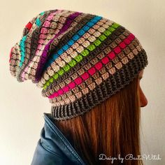 Slouchy Beanie By BautaWitch - Free Crochet Pattern - (bautawitch)
