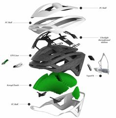 Smith goes after the road market with the Overtake Helmet - Bike Hugger Buy Bike, Bike Run, Cycling Helmet, Bicycle Helmet, Mountain Bike Shoes, Mountain Biking, Hockey Helmet, Exploded View, Safety Helmet