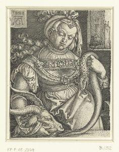 Onmatigheid, Heinrich Aldegrever, 1528