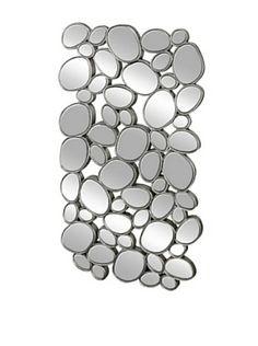 Mercana Nova II Mirror, Silver