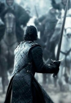 """Jon Snow – Game of Thrones – """"Battle of the Bastards"""" ~ bad ass scene! Jon Snow – Game of Thrones – «Bataille des bâtards Arte Game Of Thrones, Game Of Thrones Artwork, Game Of Thrones Tattoo, Game Of Thrones Poster, Game Of Thrones Facts, Game Of Thrones Quotes, Game Of Thrones Funny, Game Thrones, Game Of Thrones Characters"""