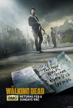 The Walking Dead - 5ª Temporada (2014 - 2015) | Tortuosa existencia... Los supervivientes de este apocalipsis zombi siguen su tortuosa existencia en una quinta...