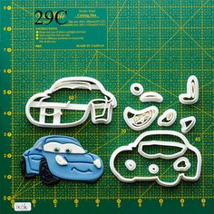 Disney cars Cookie Cutter disney cars embroidery design,disney cars fabric,disney cars food labels,disney cars favors