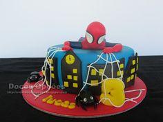 Doces Opções: O Homem Aranha no 3º aniversário do Lucas