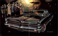1965 Pontiac Bonneville Brougham articulated wipers