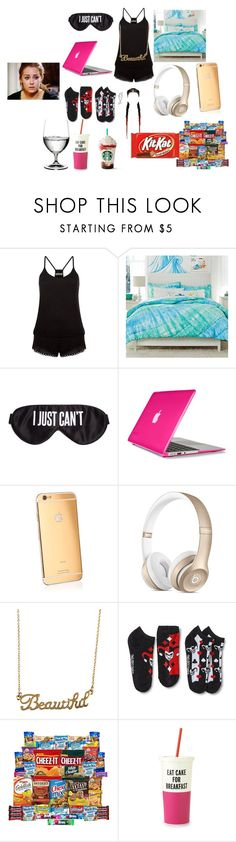 """after i caught him cheating"" by zaralover242 on Polyvore featuring New Look, PBteen, Perpetual Shade, Speck, Goldgenie, Forever 21, Kate Spade and Riedel"