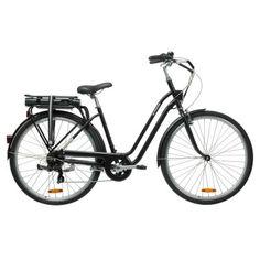 City E Bike Cube Touring Hybrid Exc 400 Damen E Bike Black