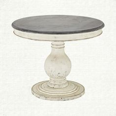 The Luca Dining Table features a beautiful weathered table base complemented by a stunning bluestone top.