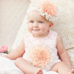 Peaches 'N Cream Ryann Whimsy Bubble from Freckles Children's Boutique for $25.00