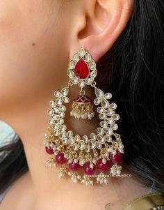 Gold Hoop Earrings, Stone Earrings, Drop Earrings, Traditional Indian Jewellery, Indian Jewelry, Handmade Silver, Handmade Jewelry, Boho Gypsy, Photo Jewelry