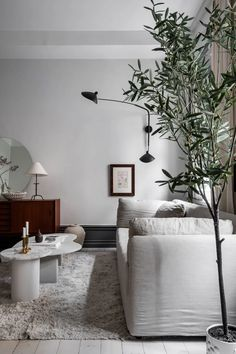 Apartamento nórdico con agradable combinación de colores neutros y grises   delikatissen
