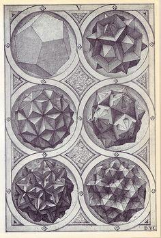 Coelum (b) - Perspectiva Corporum Regularium - Wenzel Jamnitzer 1568 | Flickr – Condivisione di foto!