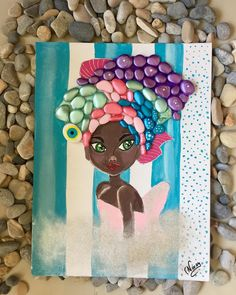 #taş #taşboyama #stone #stonepainting #pebbleart #handmade #art #gift #homedecor #hobi #hobisanat #elemeği #cicilibicili #taştasarımtablo #hayırlıcumalar 🙏🌸🌸🌸 Driftwood Crafts, Sand Crafts, Rock Crafts, African Paintings, Pebble Pictures, Mosaic Diy, Hand Painted Rocks, Pebble Art, Stone Art